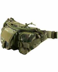 Kombat Tactical Waist Bag in BTP Utility Day Army Bumbag Military