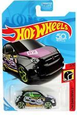 2018 Hot Wheels HW Daredevils 2/5 Fiat 500 Blk