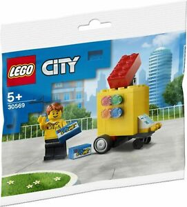 LEGO CITY 30569 LEGO Stand Polybag New & Sealed - Rare Opportunity