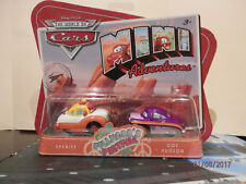 Disney Cars Mini Adventures 2 Pack ,Filmores Festival ,Sheriff & Doc Hudson