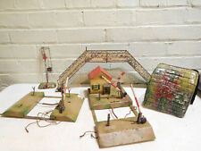 Vintage Marklin Hornby Kibri Bing O Scale Train Accessories Crossing Tunnel