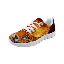 Cool Tiger Design Men's Sneakers Mesh Casual Fashion Breathable Running Shoes