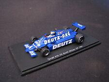 Spark Tyrrell Ford 010 1981 1:43 #4 Desiré Wilson South African GP (LS)