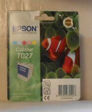 Original Epson T027 Tinte Color für Stylus Photo 810 830 830U 925 935 5farbig