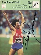 Bruce Jenner Signed 1977-79 SportscasterAutograph Auto PSA/DNA AD10721