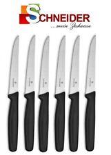 6x VICTORINOX Steakmesser - Brötchenmesser - Haushaltsmesser - SCHWARZ - 5.1233
