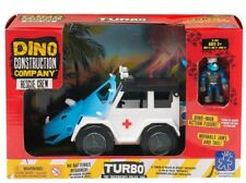 Educational Insights Dino Construction Company Rescue Crew Turbo the Triceratops