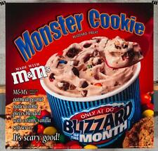 Dairy Queen Promotional Poster For Backlit Menu Sign M&M Monster Cookie dq2