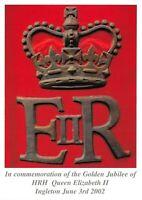 Postcard Golden Jubilee of HRH Queen Elizabeth II, Ingleton, June 3rd 2002 48N