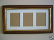 Teak picture frame effect ACEO Art card 3.5 x 2.5 inch