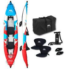 "AQUA MARINA Vapeur 13,6 "" Professional Kayak 2 Personnes Gonflable Tours 412"