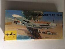 1973 Heller L-081 Messerschmitt BF.109-F 1/72 Scale Model New