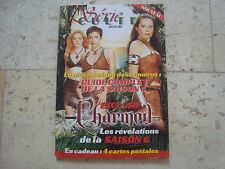 CHARMED Holly Marie Combs Alyssa Milano SERIE CULTE magazine book + 4 Postcards
