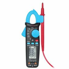 Automotive Clamp Meter True RMS 6000 Counts AC/DC Current 1mA Tester with Clip