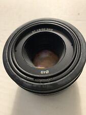 Sony SAL50 f18 DT 1.8/50 SAM Digital SLR Camera Lens