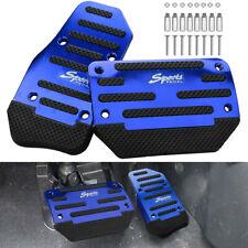 Universal Non Slip Automatic Gas Brake Foot Pedal Pad Cover Accessories 2pcs Kit Fits 2012 Chevrolet Cruze Lt