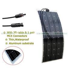 Power 150W Mono Semi-flexible Mono PV Solar Panel Module for Car  Outdoor Use