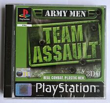 PS1 Army Men: Team Assault (2001), UK Pal, Brand New & Sony Factory Sealed