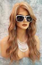 LACE FRONT HAND TIED EAR TO EAR LACE HEAT FRIENDLY FS8.27.613 WIG USA SELLER 483