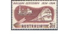 Australia 1954 3½d RAILWAY CENTENARY, Unhinged Mint SG 278