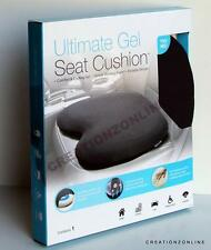 The Ultimate Memory Gel Seat Cushion Cooling  Office Car Back Support Hip Stress