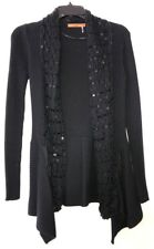 Belldini Blk Cardigan With Sequins Sz S Excellent Condition