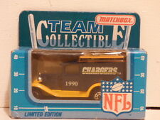 Matchbox Superfast NFL Team Collectables Chargers 1990  NFL-90-27  Ford Model A