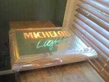 """Vintage Michelob Light Light-Up Mirror - Anheuser Busch - 20"""" x 15"""""""