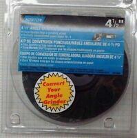 """Norton 01693  4-1/2"""" Angle Grinder / Sander Conversion Kit"""