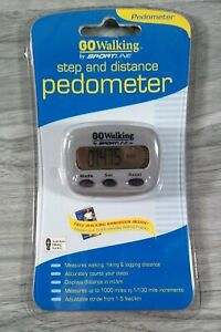 GOWalking by Sportline Step and Distance Pedometer Free Ship GW2795GY New Sealed