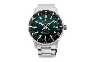 Orient Star RE-AU0307E Diver 200m Green Sapphire Power Rsrve 50Hrs Made in Japan