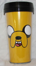 ADVENTURE TIME TRAVEL MUG COFFEE THERMOS HOME KITCHEN HOT JAKE THE DOG PLASTIC!!