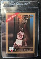 1990 SKYBOX PROTOTYPE SAMPLE #41 MICHAEL JORDAN CHICAGO BULLS HOF EX