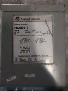 GE 1.00kVA Buck Boost Transformer (9T51B0110) 120/240 HV 12/24 LV 1PH 60Hz
