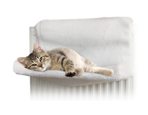 New Cat Dog Pet Radiator Bed Fleece Hammock Warm Kitten Puppy Cradle Basket