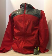 Under Armour Youth Storm Futbolista Shell Red/Grey Size Youth Large Jacket