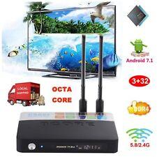 3+32GB DDR4 Android 7.1 Nougat Amlogic S912 Octa Core Smart TV BOX CSA93 4K HDMI