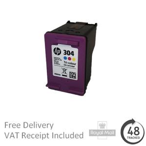 Genuine HP 304 Tri-Colour Ink Cartridge N9K05A