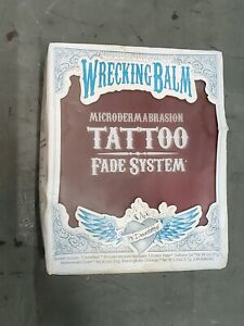 Wrecking Balm Tattoo Removal System to Fade Tattoos At Home Kit new