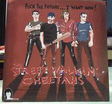"Street Walkin' Cheetahs 7"" Pink Vinyl Recprd *uck The Future... I Want NOW! NEW"
