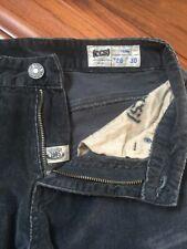 CCS Skater Mens Black Skinny Jeans Corduroy Pants 28 x 30 Skateboarding