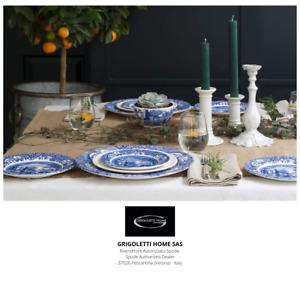 Spode - Blue italian - Set Dinner Set 18 Pieces X 6 Persons - Dealer