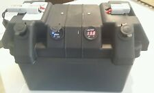 Battery box with engel style ,cig , usb sockets & voltmeter 4 x 4 camping truck