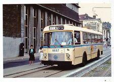 CPA PK AK PHOTO TRAM TRAMWAY BUS TROLLEY-BUS STIB-MIVB BRUXELLES LIGNE 49