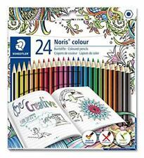 Staedtler 185 C24JB Noris Coloured Pencil with Adult Design Assorted EX Display