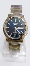 SEIKO 5 SNK793K1 Stainless Steel Band Automatic Men's Blue Watch 100% New