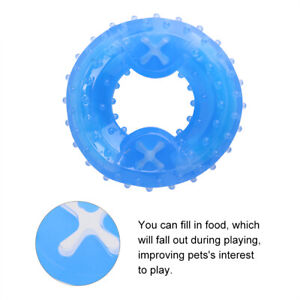 Pet Dog Cooling Chew Puzzle Toy Pet Dog Freeze Cooling Teether Summer Training