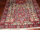 "Antique Karaja Oriental Rug, c. 1920, 2'6"" X 4'1""  Beautiful, Heriz"