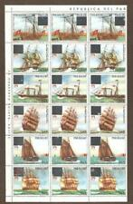 Paraguay Sc 2146 Sheet 18 OVERLOAD missing for specialists MINT NH VF