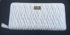 NWT Authentic Coach Accordion Zip Wallet in Gathered Twist Leather F49609
